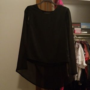 Nasty Gal cape blouse